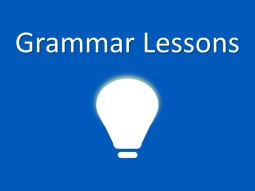 GRAMMAR LESSONS 2