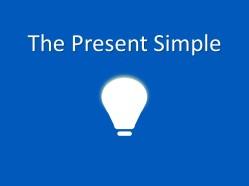 present simple pic